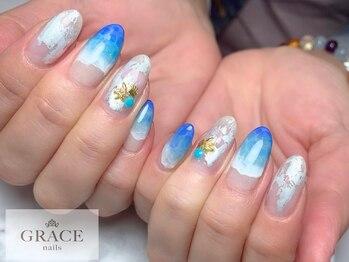 グレース ネイルズ(GRACE nails)/海ネイル