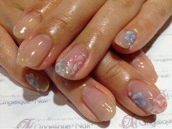 アンジェリーク ネイル(angelique nail)/ジェルネイルan-6☆¥11,772