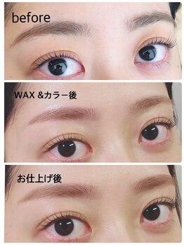 プティ アイビューティ 淀屋橋店(peTiT eyebeauty)/【眉カラーリング】