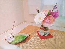 コンシェルジュ(Concierge)の雰囲気(玄関には季節の花でお出迎え(*^^*)【大宮駅5分】)