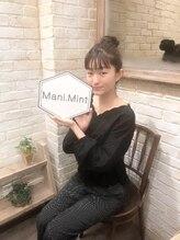 マニミント 表参道店(mani.mint)/*阿部朱梨ちゃんご来店*