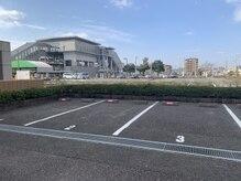 ミンレイ(MinRei)の雰囲気(お店正面からみて左側に5台お客様駐車場がございます。)