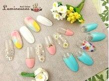 ルミネス(Lumineuses)の雰囲気(可愛いイベントデザインが店頭に多数♪6200円定額コース!!)