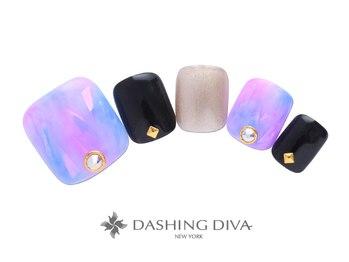 ダッシングディバ エキュート 立川店(DASHING DIVA)/オーロラフィルムネイル