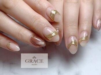 グレース ネイルズ(GRACE nails)/マグネットとアクセサリー
