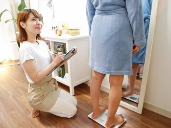 加圧ビューティーサロン スタイル エム(beauty salon style M)/測定