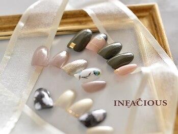 インフェイシャス タカシマヤ ゲートタワーモール店(INFACIOUS)/オーダーメイド ネイルデザイン