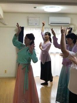 ポーラ ザ ビューティ 星ヶ丘店(POLA THE BEAUTY)/8月中国舞踊
