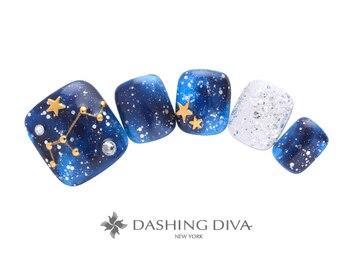 ダッシングディバ エキュート 立川店(DASHING DIVA)/キラキラ星座ネイル