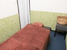 健康館の雰囲気(アロマリンパマッサージは個室でリラックス♪)