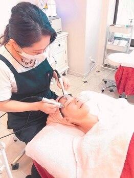 ハッピービューティーサロン じゆう(Happy Beauty Salon J∞YOU)の写真/岡山で珍しい【eyeケアエステ】メニューの登場です!eyeケア専用マシンで気になるお目元を徹底アプローチ☆