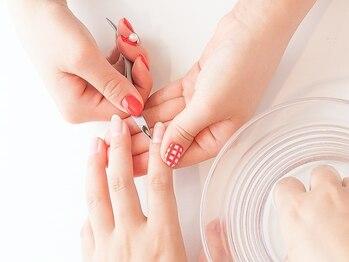 ジー フィンガー 川口店(G Finger)の写真/【JNEC検定取得スタッフ在籍】施術はカウンセリングから!お爪のお悩みに寄り添い美しい指先へと導きます♪