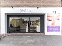 アイラッシュ サロン ブルーミング(Blooming)の雰囲気(《Eyelash salon Blooming》の看板が目印です。♯カラーエクステ)