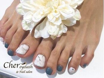 FOOT大理石風