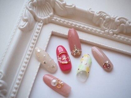 モアネイル 東岡山(moa nail)の写真
