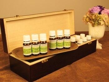 グシアロマ(Gushi Aroma)の写真/女性特有の身体のゆらぎに天然オイルでサポート・改善◎ベルギーのプラナロム社の上質な天然オイルを使用!