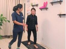 フットレスキュー(FOOT RESCURE)の雰囲気(足の健康診断☆立位、歩行時のバランスを測定し、原因を説明!!)