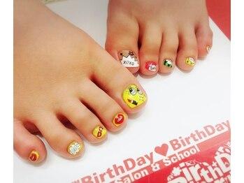 ★foot nail アート
