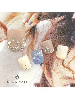 ルナ ネイル(LUNA NAIL)/【フット】スターネイル☆