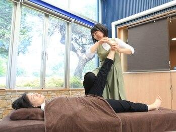 KWMボディメンテナンス 昭和の森店の写真/解す。だけではなく「伸ばす」を中心に行う身体がすっきりするストレッチです♪