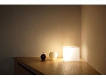 ソワンスリール(soinsourire)/施術室の明るさ