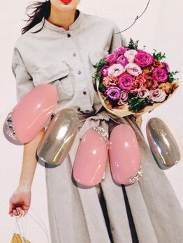 ビューティー プレイス ジャム イップク(Beauty Place JAM IPPUKU)/●秋ピンク特集/ガリーネイル