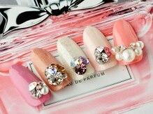メリーアイラッシュ メリーネイル(Merry eyelash & Merry nail)の雰囲気(Vカットやパーツも豊富に取り揃え◎一気に華やかネイルに。)