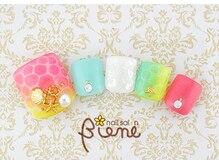 ネイルサロン ビーネ(nail salon Biene)/アーリーサマーフット★12980-4