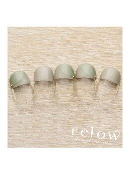 リロウ(relow)/2月のキャンペーンアート☆4