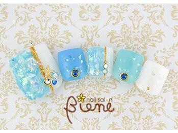 ネイルサロン ビーネ(nail salon Biene)/アーリーサマーフット★12980-9