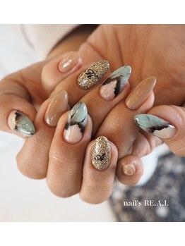 ネイルズリアル(nail's REAL)/天然石ネイル