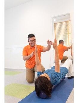 ハビット整体院/肩甲骨を動かして、肩をすっきり