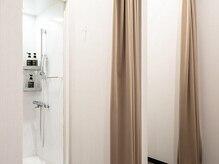ライザップ 銀座店(RIZAP)/清潔感のあるシャワールーム