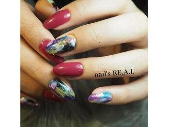 ネイルズリアル(nail's REAL)/ニュアンスマーブル
