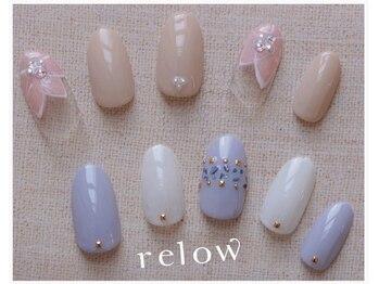 リロウ(relow)/4月キャンペーンネイル1.2☆