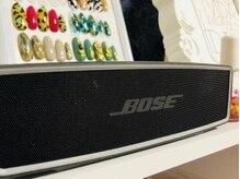 音楽大好きなので、音質にこだわりBOSEのスピーカーで♪