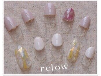 リロウ(relow)/4月キャンペーンネイル3.4☆