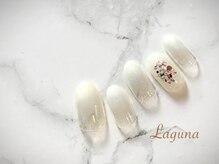 ラグウナ(Laguna)/パールホワイトのグラデーション
