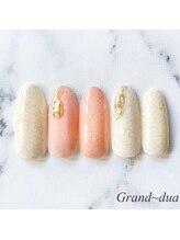 グランドゥア(Grand dua)/ハンド/持ち込みデザイン¥6490