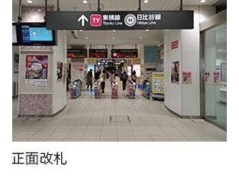 リーズ リー湘南 中目黒店/中目黒駅から当店まで