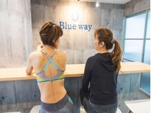 ブルーウェイ(Blue way)/特設バ-カウンタ-も完備