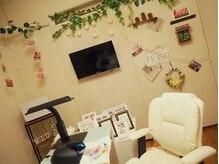 プライベートな時間を過ごせる完全個室。