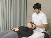 整体リボディ 大阪本町(Re:Body!)の雰囲気(歪みを整えることで肩・首・腰のコリをしっかり解消します。)