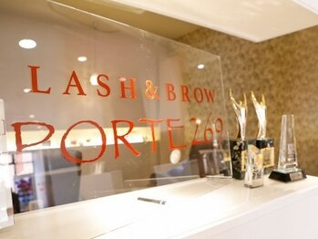 ポルテニーロクキュー ブレス(LASH&BROW PORTE269×brace)(大阪府大阪市阿倍野区)