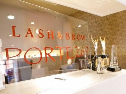 ポルテニーロクキュー ブレス(LASH&BROW PORTE269×brace)の写真
