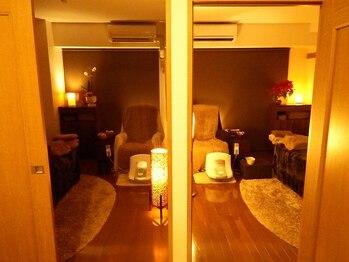 カイロプラクティック庵の写真/綺麗な広々完全個室の女性専用サロン!リラックスしながら、改善力が違う矯正術を【初回¥3900】
