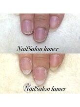 ネイルサロン ラメール(Nail Salon lamer)/アクリル長さだし♪