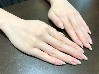 ロココアンドモカ 天王寺(Rococo&moca)の写真/お爪休みコース☆【自爪ケア+パラフィンパック ¥3800】が大人気!丁寧ケアで手肌美人に♪