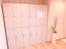 癒林 亀戸の雰囲気(ロッカー室)