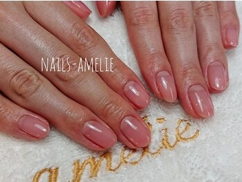 ネイルズ アメリ(Nails amelie)の写真/ネイル技術はもちろん、ケアもこだわり◎年齢が表れやすい手元も徹底ケア♪仕上がりがよりキレイに長持ち♪